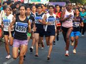 India running!