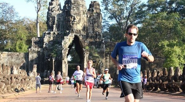 Angkor Empire Marathon, Cambodia 4 Aug 2019