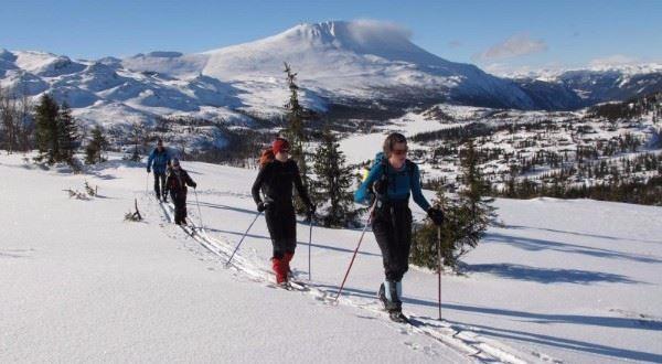 Cross-country Skiing: Kvitavatn