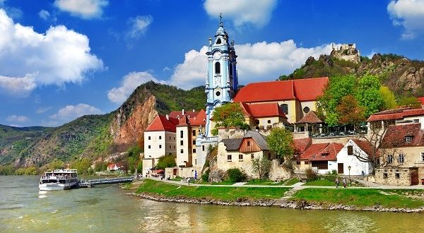 Easy Cycling Along the Blue Danube