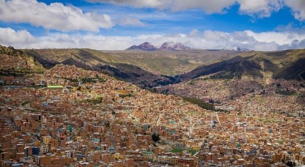 La Paz to Santiago