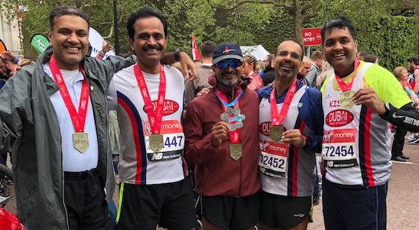 Virgin Money London Marathon 2021 UAE Residents