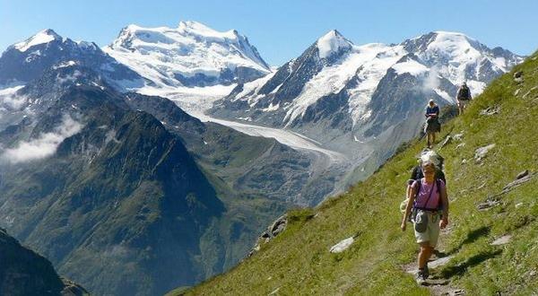 Mont Blanc to the Matterhorn