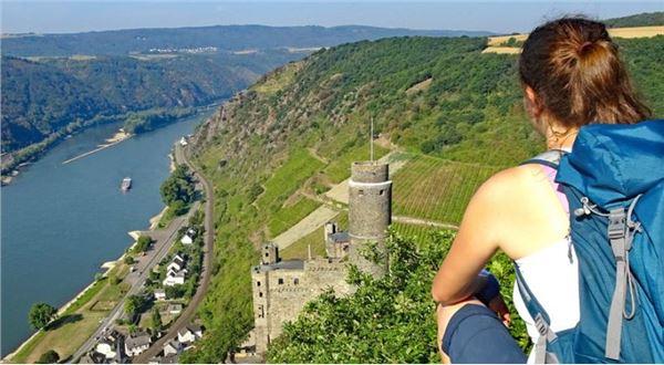 Rhine short walking tour