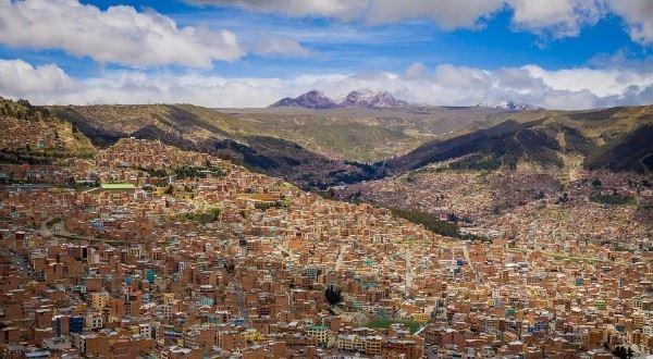 Santiago to La Paz