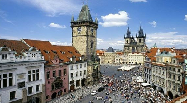 Self guided Cycling From Prague to Dresden