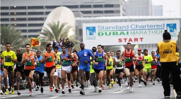 Standard Chartered Dubai Marathon - 26 Jan 2019