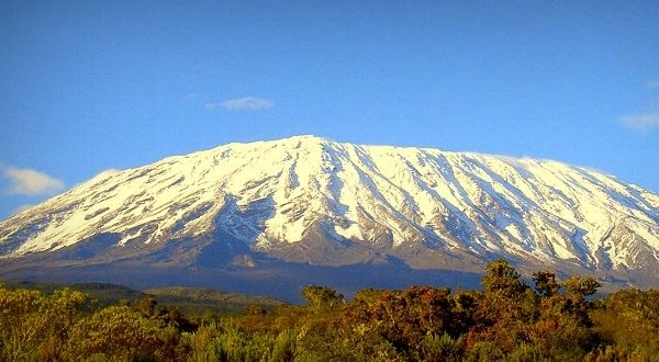 The top of Kilimanjaro (Marangu Route)